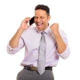 Man talking on phone Stock Photos