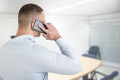Man Talking on the Phone Stock Photos