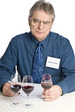 Man Tasting Wine Royalty Free Stock Photography