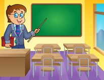 Man teacher theme image 3 Royalty Free Stock Photography
