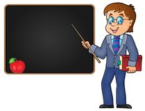 Man teacher theme image 2 Stock Photos