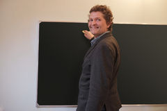Man teacher Stock Photography