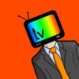 Man television Royalty Free Stock Images