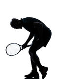 Man tennis player Royalty Free Stock Image