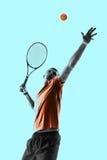 Man, tennis player Royalty Free Stock Photo