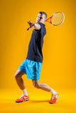 Man, tennis player Stock Image