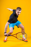 Man, tennis player Stock Images
