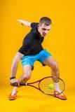 Man, tennis player Stock Images