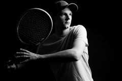 Man, tennis player Royalty Free Stock Images