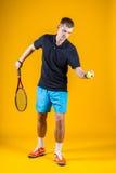 Man, tennis player Royalty Free Stock Image