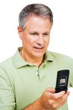 Man text messaging Stock Photo