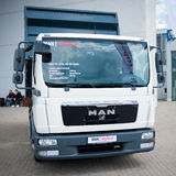 MAN TGL 8.150 4x2 BB truck Stock Photos