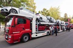 MAN TGS 23.460 Car Transporter Royalty Free Stock Photos