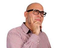 Man thinking Stock Image