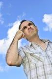 Man thinking Royalty Free Stock Photo