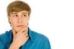 Man thinking Royalty Free Stock Images