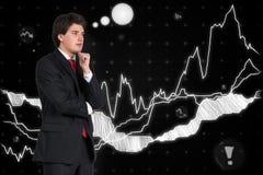 Man thinking Royalty Free Stock Image