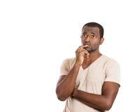 Man thinking Royalty Free Stock Photography