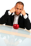 Man Thinking Innovation Royalty Free Stock Photo