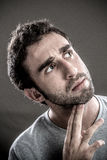 Man thinking Royalty Free Stock Photo