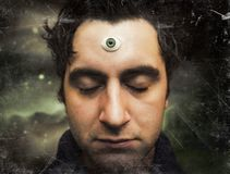 Man Third Eye Royalty Free Stock Photos