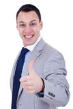 Man with thumb up Royalty Free Stock Photography