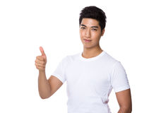 Man with thumb up Royalty Free Stock Images