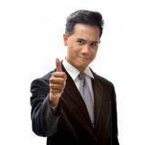 Man with thumb up Royalty Free Stock Photo