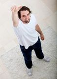 Man with thumbs-up Royalty Free Stock Photo