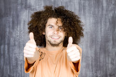 Man with thumbs up Royalty Free Stock Photography