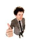 man thumbs up Стоковое Изображение RF