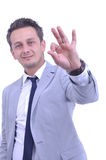 Man thumbs up Royalty Free Stock Photography