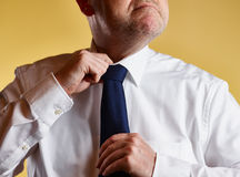 Man and Tie Stock Photography