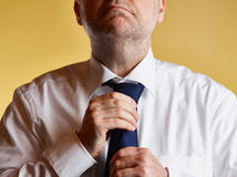 Man and Tie Stock Images