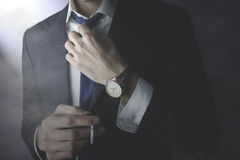 Man tie Royalty Free Stock Images
