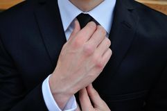 Man with tie Stock Images