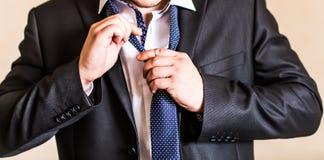 Man with a tie Stock Photos