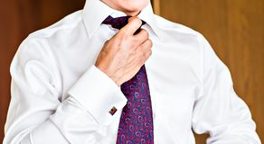 Man with a tie Royalty Free Stock Photography