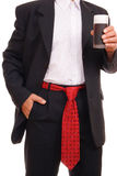 Man with ties Stock Images