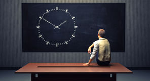 Man Time Deadline Royalty Free Stock Image