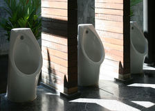 Man Toilet Outdoor Royalty Free Stock Photography