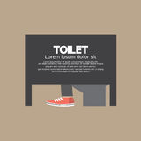 Man In A Toilet Room Royalty Free Stock Photo