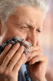 Man with tooth pain Royalty Free Stock Photos