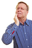 Man with toothache Royalty Free Stock Image