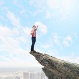 Man on top Stock Photos