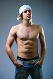 Man topless Royalty Free Stock Photos