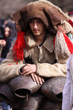 Man in traditional masquerade costume Stock Photos