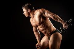 Man training Stock Photo
