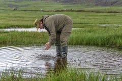Scoop up natural water stock photos