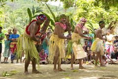 Tribesman during ceremony stamping the rhythms Stock Image
